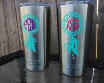 Items Similar To Cross Decal Aztec Cross Decal Yeti Decal Cross - Vinyl decals for cups