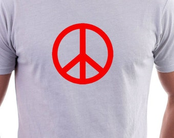 T-shirt with Ban the Bomb Logo