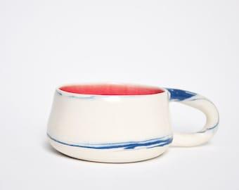 Marbled Porcelain Tea Cup