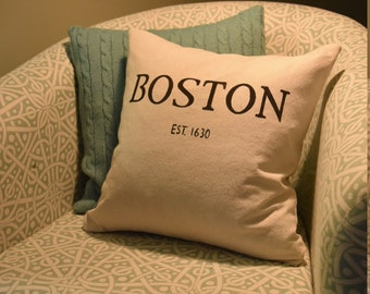 Made to Order Hometown Pillow