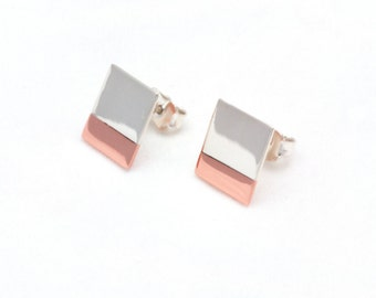 Earrings: 01.01.Square10X10