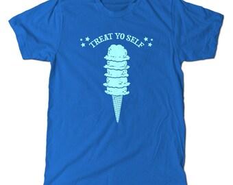 Treat Yo Self T-Shirt, Parks and Rec treat yo self day!