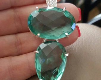 Green Amethyst Pendant! - REDUCED!