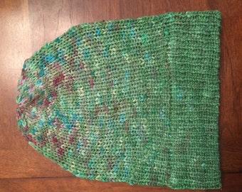 knit beanie adult size