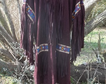 Native American Fringe Regala Dress