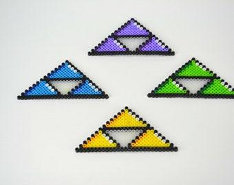Perler Bead Legend of Zelda Triforces