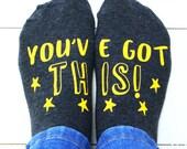 You've Got This Women's Socks - Socks with Attitude