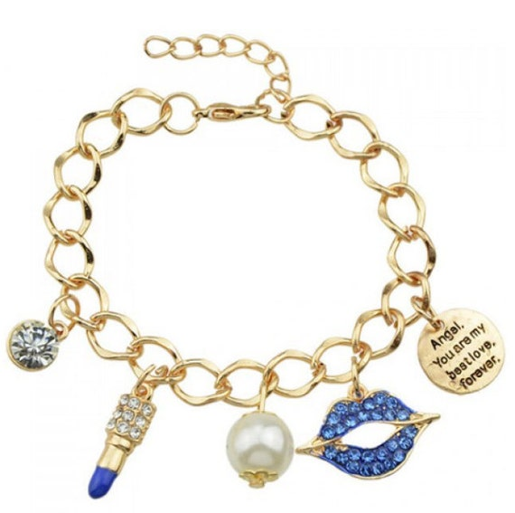 the bff charm bracelet by queen4theday on etsy