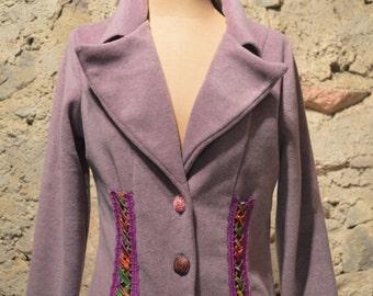 Tailor fleece jacket two colour