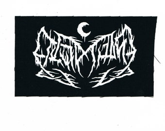 Leviathan Black Metal Patch