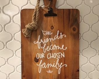 Friends&Family cutting board