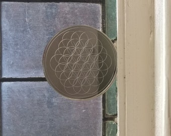 Flower Of Life acrylic mirror