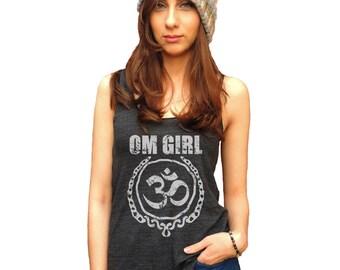 Yoga Tank, Yoga Tank Top, Yoga Shirt, OM Girl
