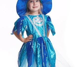girls witch costume toddler witch costume kids witch costume kids halloween costume girl witch costume blue witch costume Witch Tutu dress