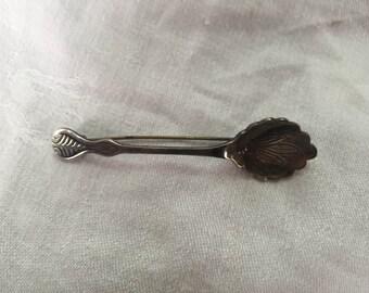 Sterling Spoon Brooch, Sterling Silver Spoon Brooch, Spoon Pin, Vintage Spoon Brooch, Vintage Sterling Spoon Brooch