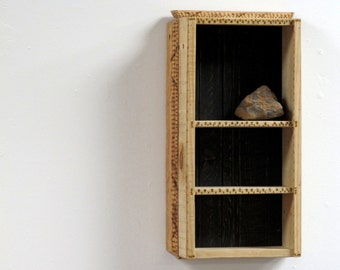 knick knack shelf rustic wood shelf beach furniture coastal furniture boat - Decorative Wall Shelves