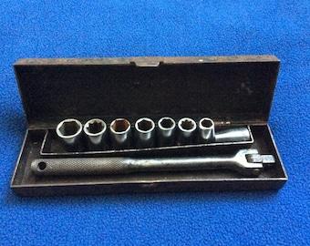 """Vintage - Craftsman 1/4"""" Socket Set"""