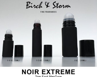 NOIR EXTREME by Tom Ford Men type - 100% Pure Perfume Fragrance Body Oil Roll On - Uncut - No Alcohol