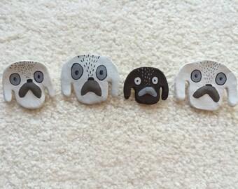 handmade dog pins