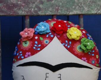 Frida Decorative Pillow Face