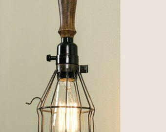 Industrial Style Trouble Light Pendant