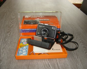Appareil photo camera Agfamatic 108 sensor. Vintage. Picture