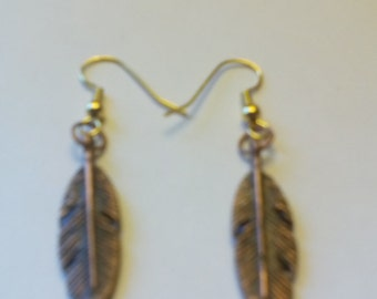 Native American feather earings
