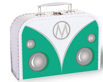Suitcases with cute design - Headlights