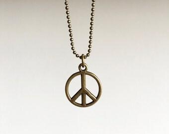 Peace ~ brass