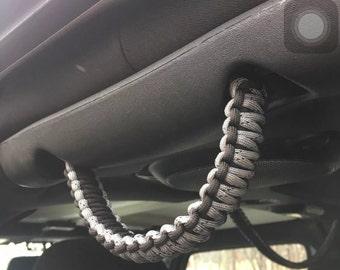 Paracord Grab Handles Jeep Wrangler JK JKU Custom Colors!