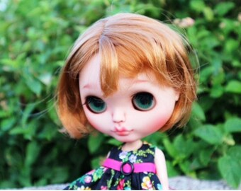 "Reduced price!Pretty""Aubrey""Ooak Blythe custom doll"