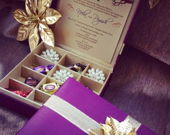 Chocolate Box + Gift Box + Wedding Invitation Box