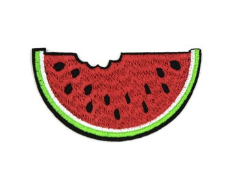 Watermelon Patch Sew On / Iron On DIY Patch Embroidered Applique 7.1x3.9cm - RP456