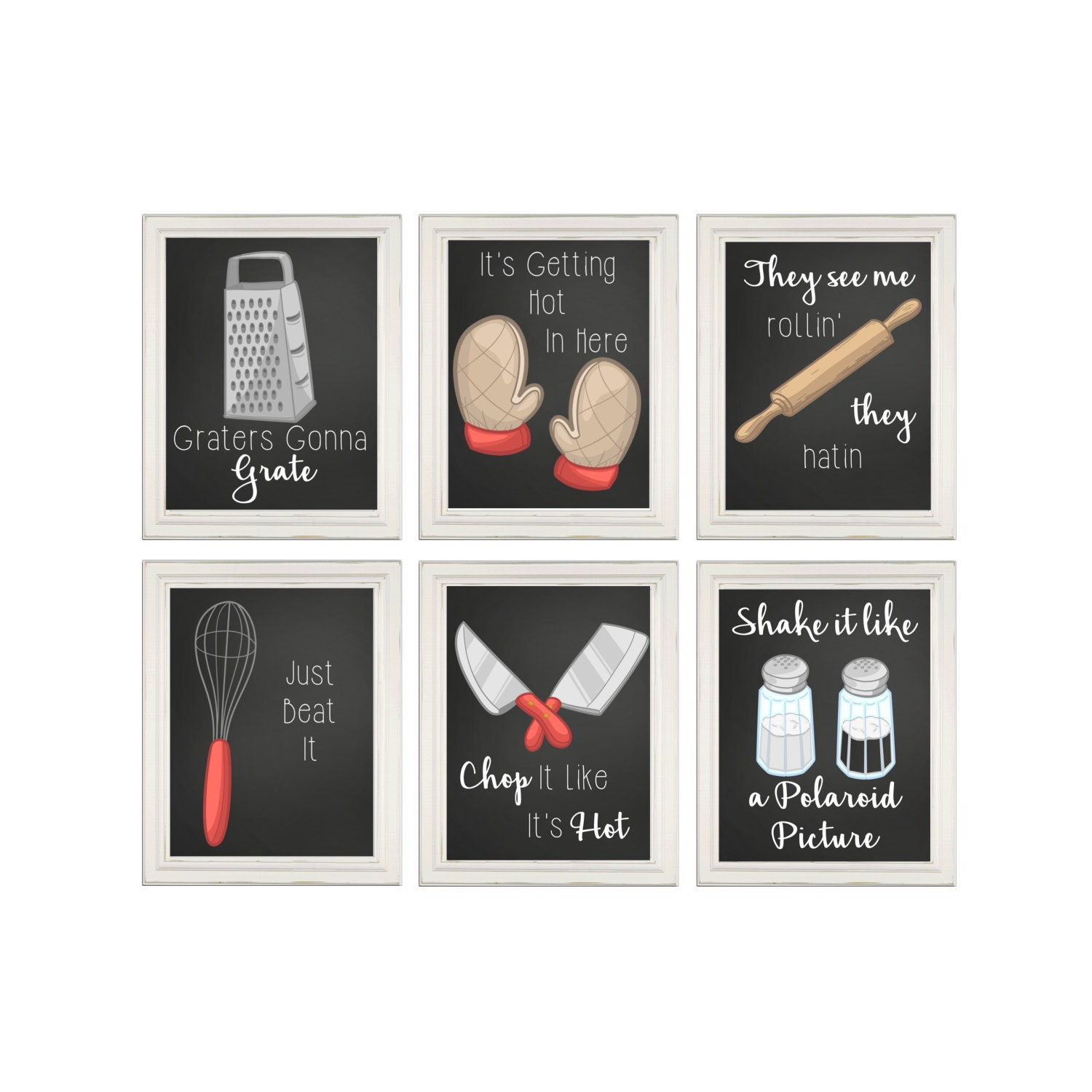 Funny kitchen prints kitchen song signs kitchen wall art for Art prints for kitchen wall