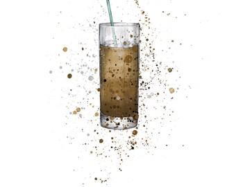Iced Coffee (print)