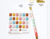 CLOSING SALE 40% OFF - 040 planner stickers : planners (candy series)