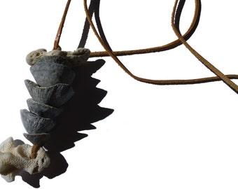 Sea acorn necklace