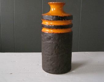 Vintage VEB Haldensleben Pottery Vase, Produced in Former East Germany, GDR, DDR, Mid Century, Modern, Keramik