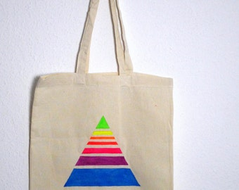 Canvas tote bag - Triangle