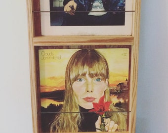 Record wall display and storage