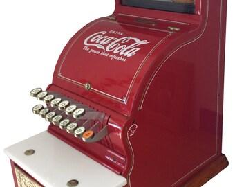 Vintage Coca-Cola National Cash Register Model 711