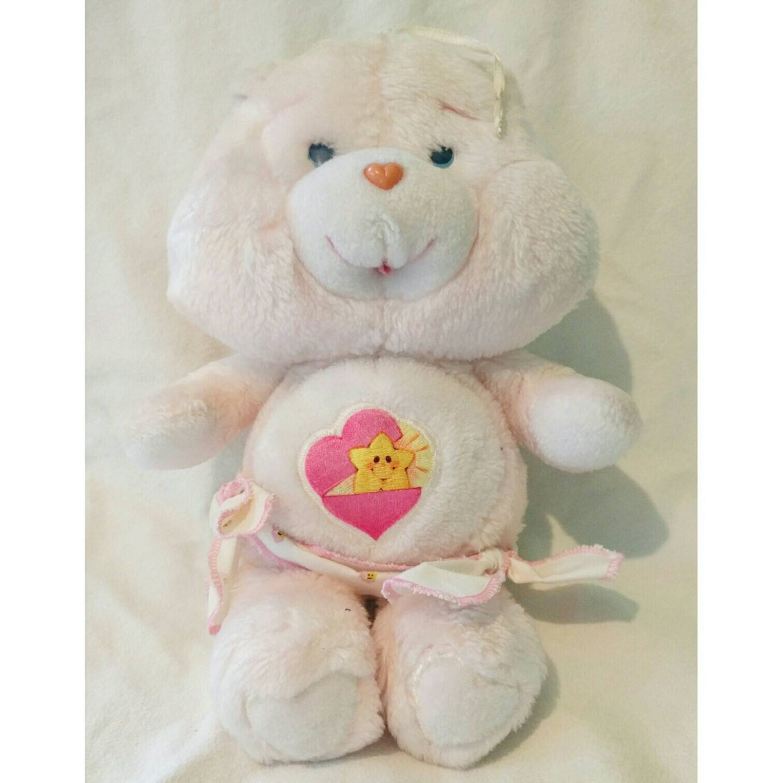 Baby Hugs Bear Care Bear Plush 1983 13