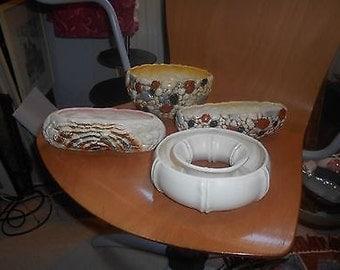 Vintage Slyvac Plant Pot Holder - Set of Four