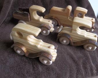 Sturdy wooden sandbox toys