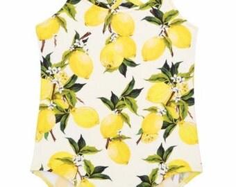 SALE Children's Lemon Swim Suit