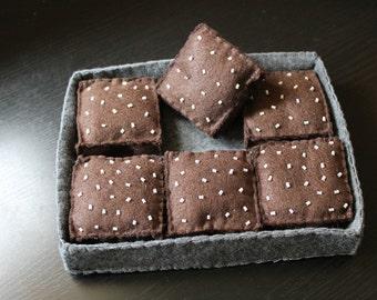 Felt Brownies