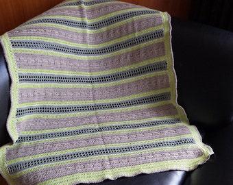 100% Anniek Refined nostalgic crochet baby blanket
