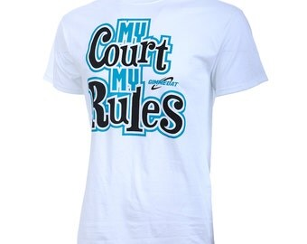 SALE! My Court My Rules Short Sleeve Volleyball T-Shirt, Volleyball Shirts, Volleyball Gift - Free Shipping!