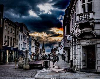 Gloucester - Mounted Photo Print