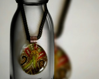 Glass Marble Necklace